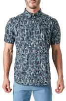 7 Diamonds Men's Universal Sound Woven Shirt