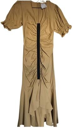 C/Meo Beige Cotton Dresses