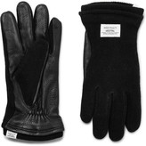 Norse Projects - + Hestra Svante Leather And Knitted Gloves