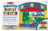 Melissa & Doug Toddler Tabletop Puppet Theater