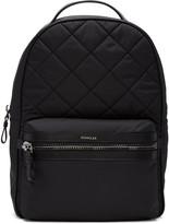 Moncler Black Quilted Nylon Backpack