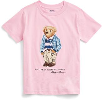 Ralph Lauren Preppy Bear Cotton Jersey Tee