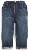 Burberry Infant Boy's Pierre Check Lined Jeans