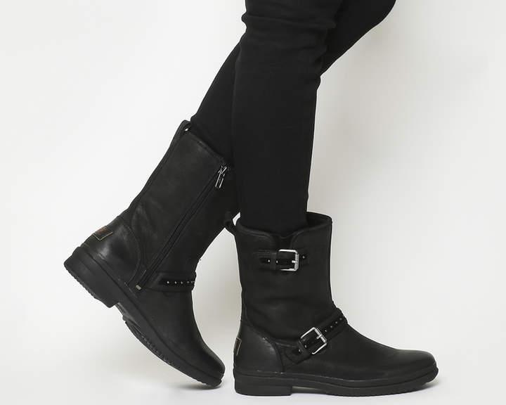 bdce12d86d7 Jenise Boots Black Leather