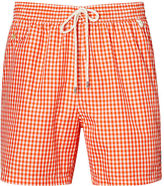 Ralph Lauren Big & Tall Gingham Swim Trunk
