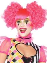 Leg Avenue Harlequin Clown Wig with Curly Puff Clip-On Curls