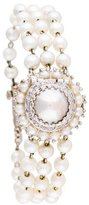 Lucien Piccard Faux Pearl Watch