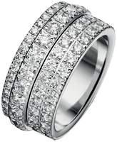 Piaget G34PX6 18K White Gold Diamond Ring Size 6.75