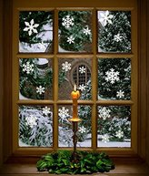 81 pcs White Snowflakes Window Clings Decal Stickers Christmas Thanksgiving Decorations Ornaments Party Supplies (3 Sheets)