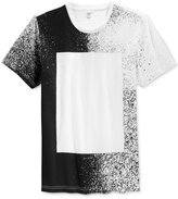 INC International Concepts Men's Block Splatter-Print T-Shirt, Only at Macy's