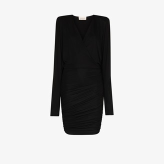 Alexandre Vauthier Batwing Bodycon Mini Dress