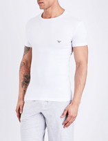 Emporio Armani Crewneck cotton T-shirt
