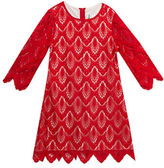 Rare Editions Girls 7-16 Scalloped Lace Dress