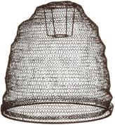 Nkuku Jatani Wire Lamp Shade - Oval - Rust