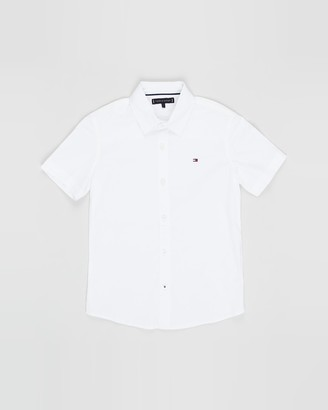 Tommy Hilfiger WCC Short Sleeve Poplin Shirt - Teens