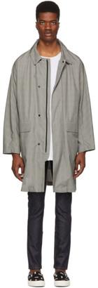 Remi Relief Grey Glen Check Coat
