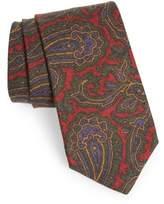 Michael Bastian Men's Paisley Wool Tie
