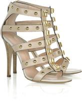 Studded gladiator heel sandal