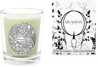 Qualitas Candles Mediterranean Scented Beeswax Candle