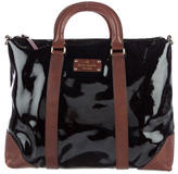 Kate Spade Two-Tone Leather Satchel