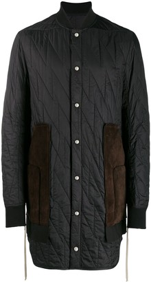 Rick Owens Quilted Duffle Coat Shopstyle