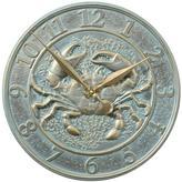 "Crab 16"" Outdoor Clock"