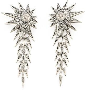 H.Stern Noble Gold and Diamond Genesis Drop Earrings