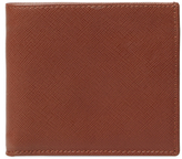 DeSanto Saffiano Leather Short Bifold Wallet