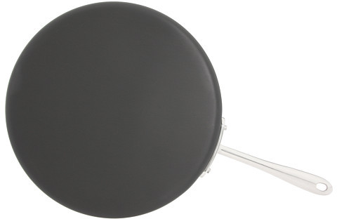"All-Clad Hard Anodized Non-Stick 12"" Round Flat Griddle"