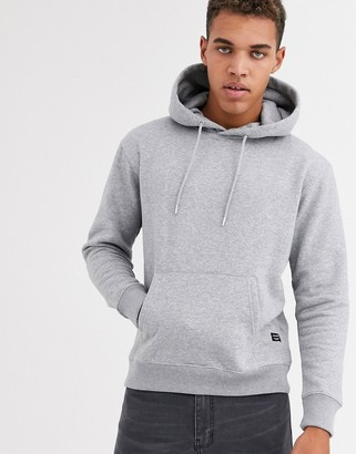Jack and Jones Essentials oversized hoodie in gray