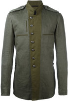 Ann Demeulemeester military jacket - men - Cotton/Linen/Flax/Rayon - M
