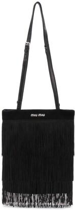 Miu Miu Fringed Shoulder Bag