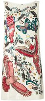 Alice + Olivia Alice+Olivia - sequin fauna and flora dress - women - Polyester/Spandex/Elastane - 6