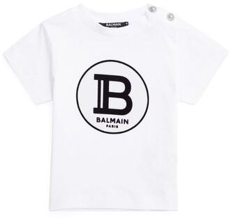 Balmain Kids Cotton Logo T-Shirt (3-36 Months)