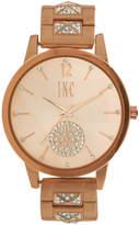 INC International Concepts I.n.c. Women's Boyfriend Pave Pyramid Glitz Bracelet Watch 40mm, Created for Macy's