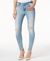Calvin Klein Jeans Ripped Nebula Blue Wash Skinny Jeans