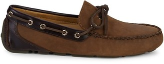Sperry Gold Cup Harpswell Nubuck Leather Drivers