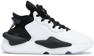 Y-3 Kaiwa contrast panel sneakers