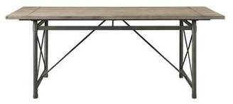 August Grove Solid Wood Dining Table