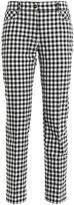 Blumarine Checked Trousers