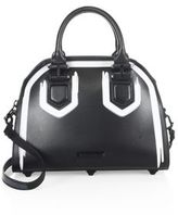 KENDALL + KYLIE Holly Top-Handle Leather Satchel