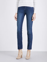 The White Company Marylebone straight-fit high-rise jeans