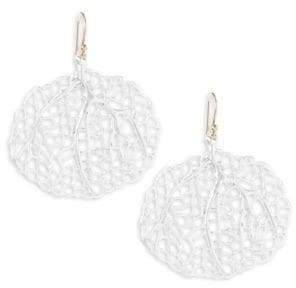 Annette Ferdinandsen Ocean 14k Yellow Gold Small Sea Fan Earrings