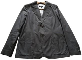 A.P.C. Grey Cotton Jackets