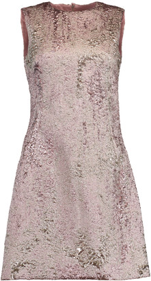 Dolce & Gabbana A-Line Jacquard Mini Dress