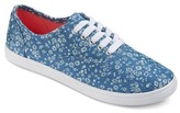 Mossimo Women's Lunea Floral Pattern Canvas Sneakers