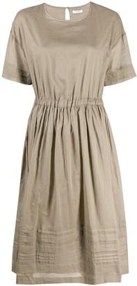 Peserico short-sleeved midi dress