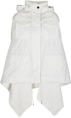 Sacai Panelled Hooded Jacket