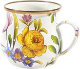 Mackenzie Childs MacKenzie-Childs - Flower Market Enamel Mug - White