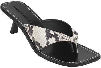 Sigerson Morrison Harri Leather Thong Sandal